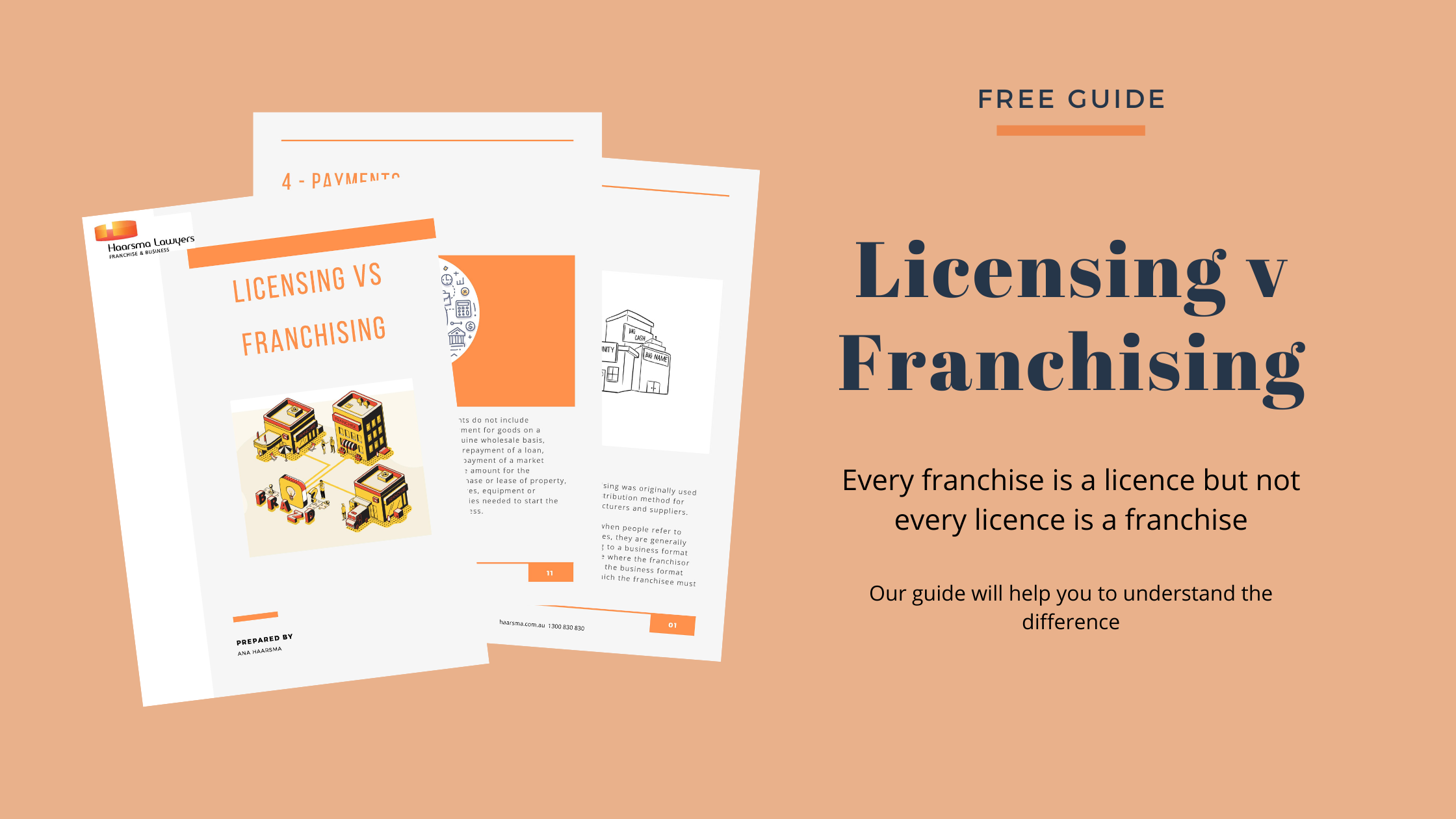 Licensing v Franchising